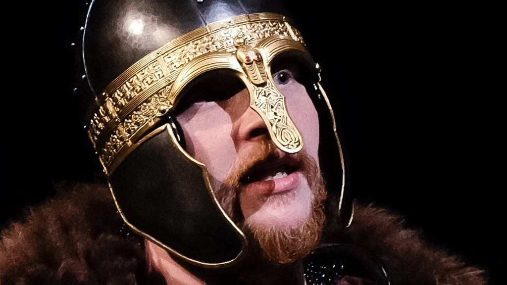 A major theatre festival imagines how the Staffordshire Hoard, a treasure trove of Anglo-Saxon gold and silver, might have been buried.