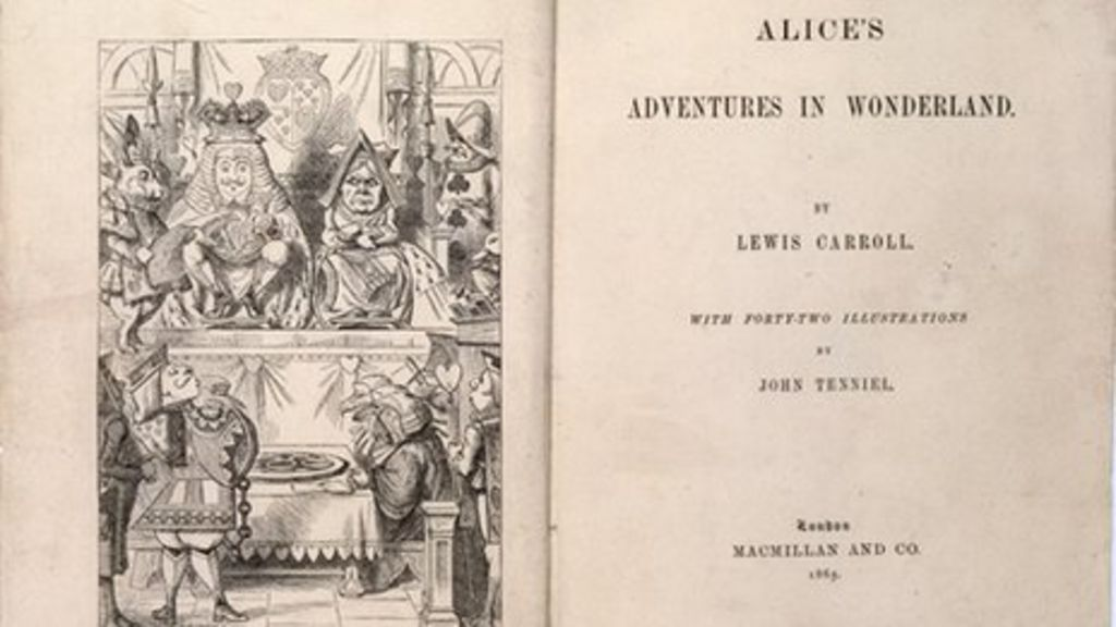Rare first edition of Alice's Adventures In Wonderland on display ...