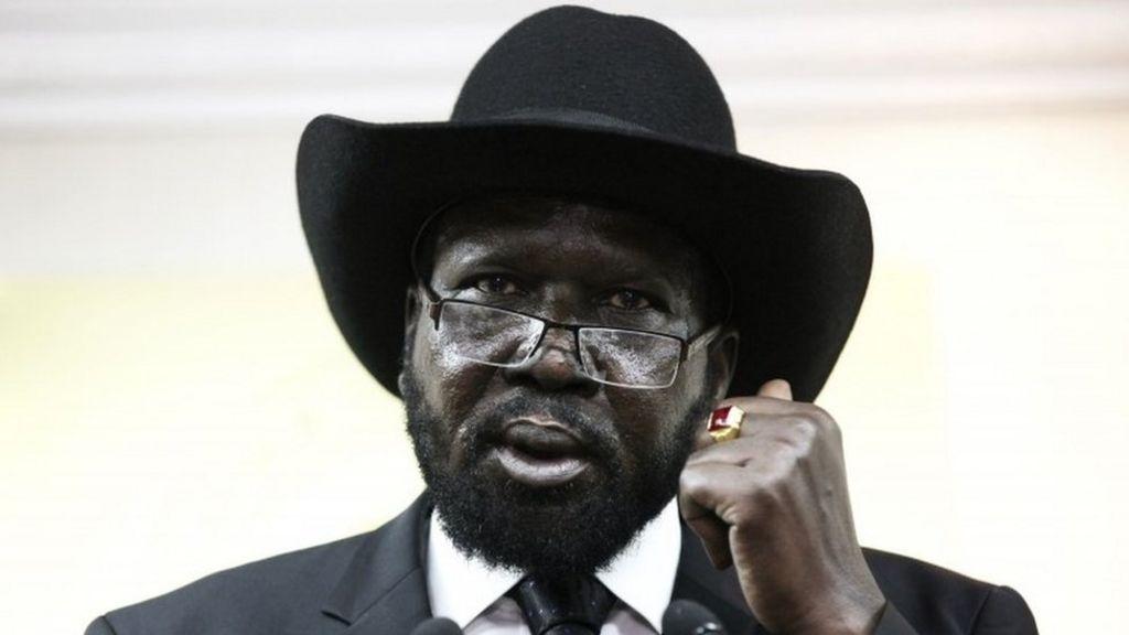 South Sudan leader Salva Kiir snubs peace deal - BBC News
