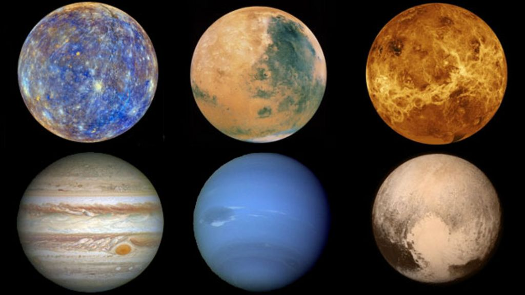 In pictures: Journey through the planets - BBC News