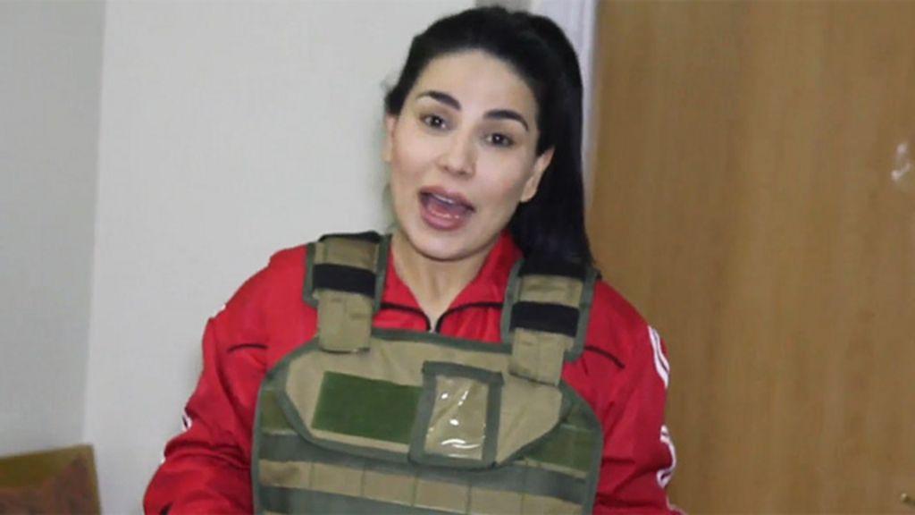 Afghan star dons her flak jacket bbc news for Aryana afghan cuisine
