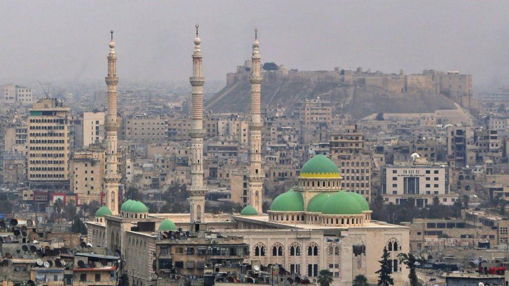 تويتر:  حلب تنتصر  - BBC Arabic