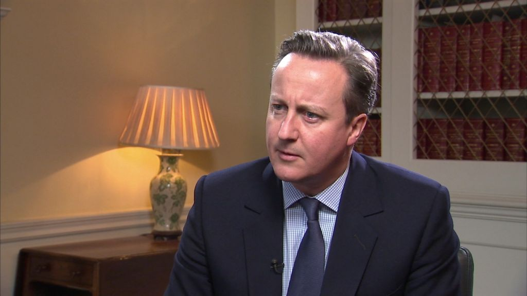 EU referendum: Cameron 'happy to be judged' on draft deal - BBC ...