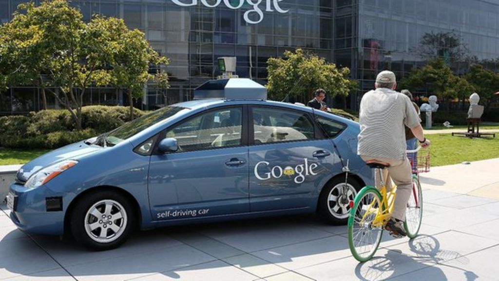 Google's self- drive cars had to be stopped from crashing - BBC News