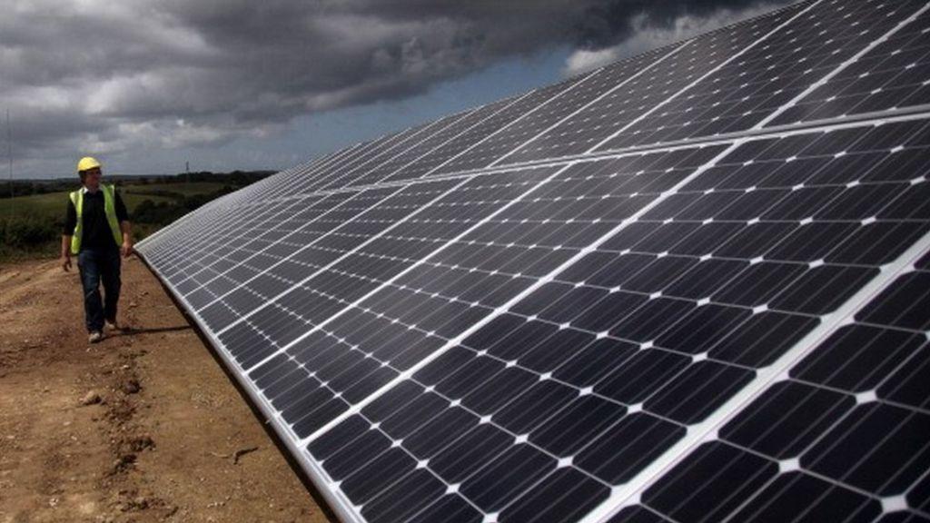 Uk Announces Cut In Solar Subsidies Bbc News