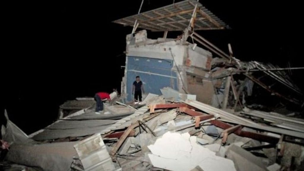 Ecuador earthquake: Deaths rise to 272