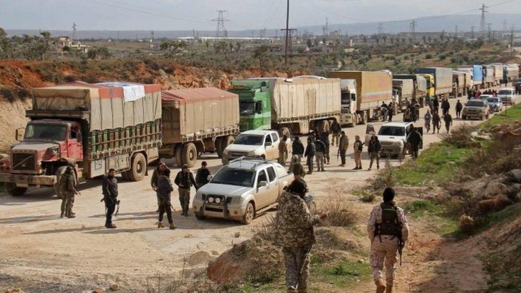 Syria conflict:
