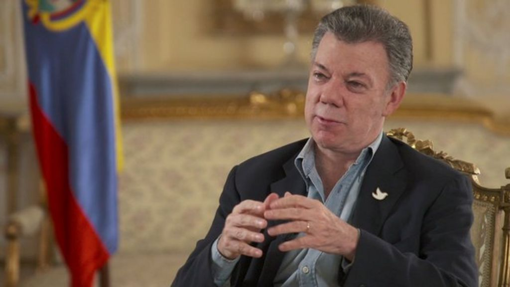 Colombian President Santos 'convinced' of Farc deal support - BBC ...