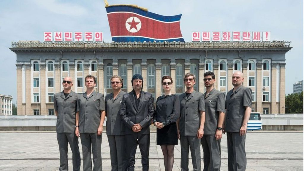 Laibach and North Korea's first Western concert - BBC News