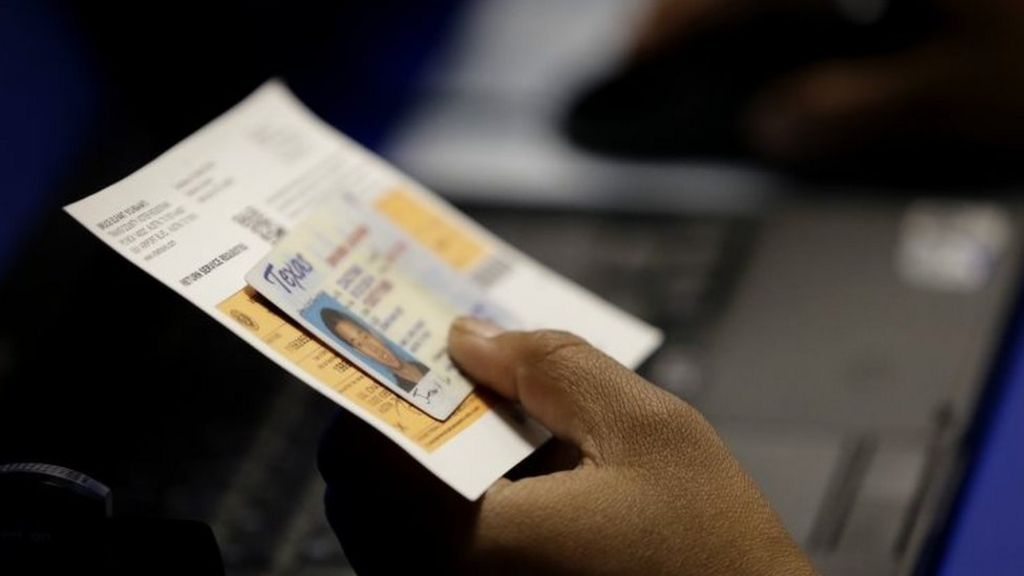 Justice department softens on Texas voter ID law
