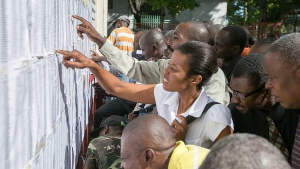 No violence as Haiti holds elections - BBC News