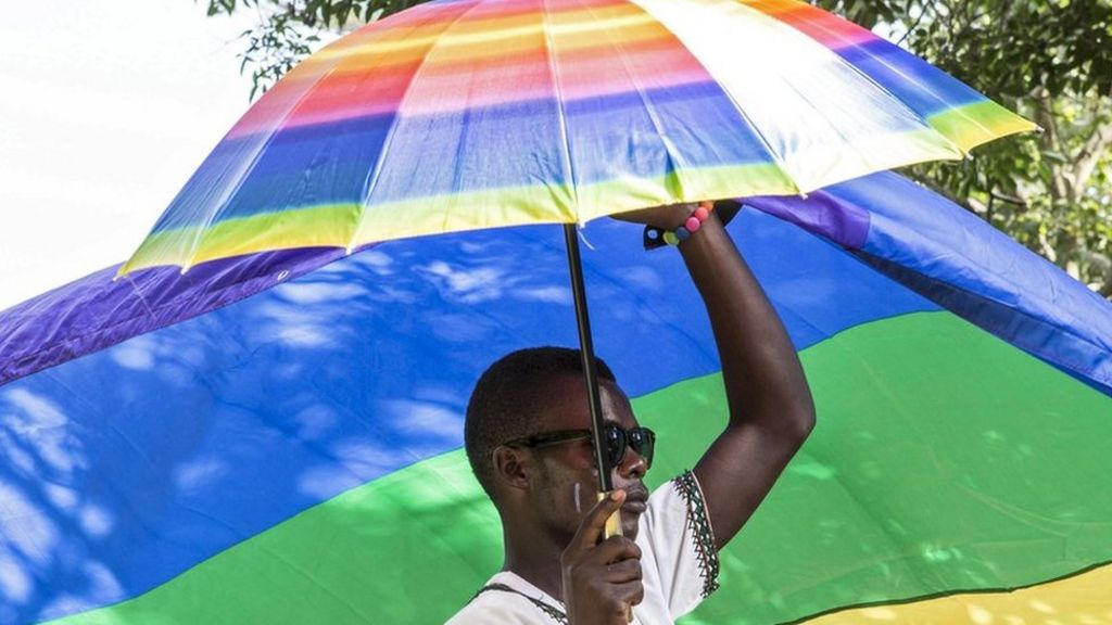 Uganda gay pride rally held a year after law overturned - BBC News