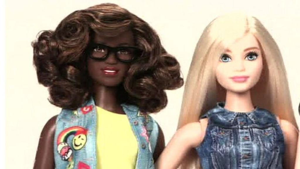 Barbie becomes curvy and changes race in makeover - BBC News