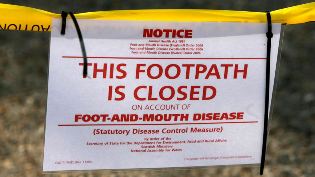 Foot and Mouth Disease, UK, 2/01 - USDA APHIS