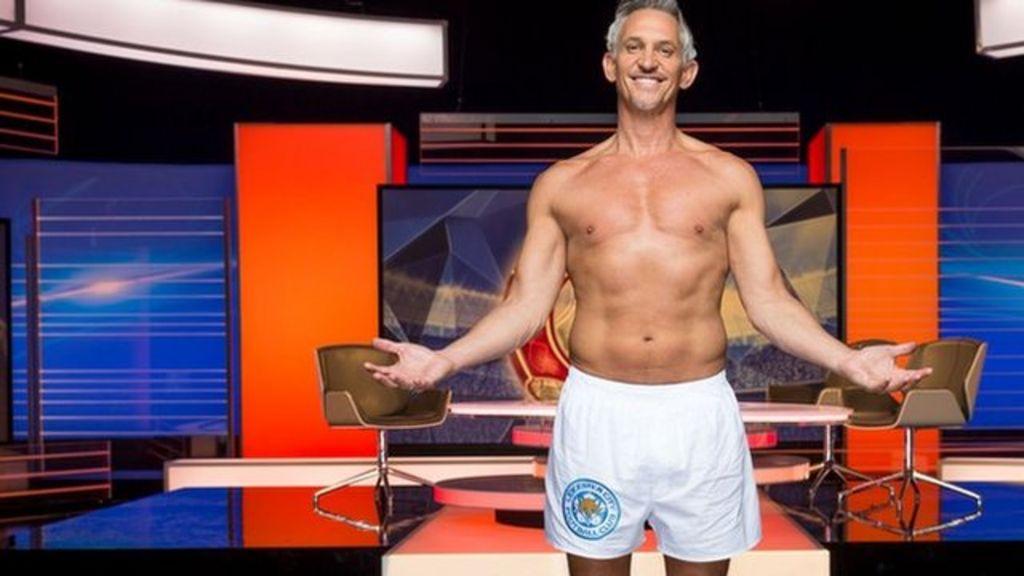 Gary Lineker Keeps His Pants Promise General News