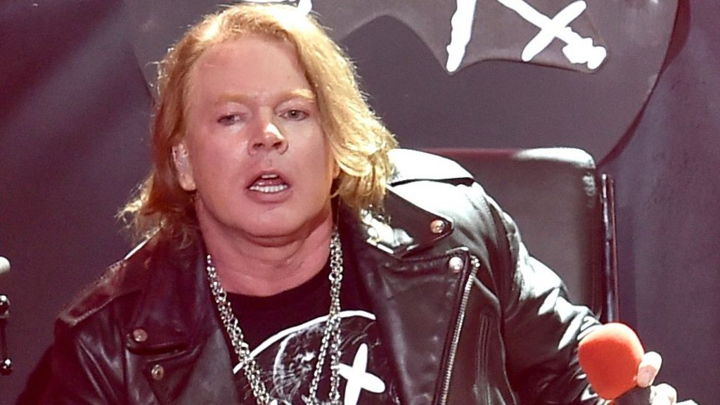 Guns n roses singer axl rose to join ac dc for tour dates bbc news