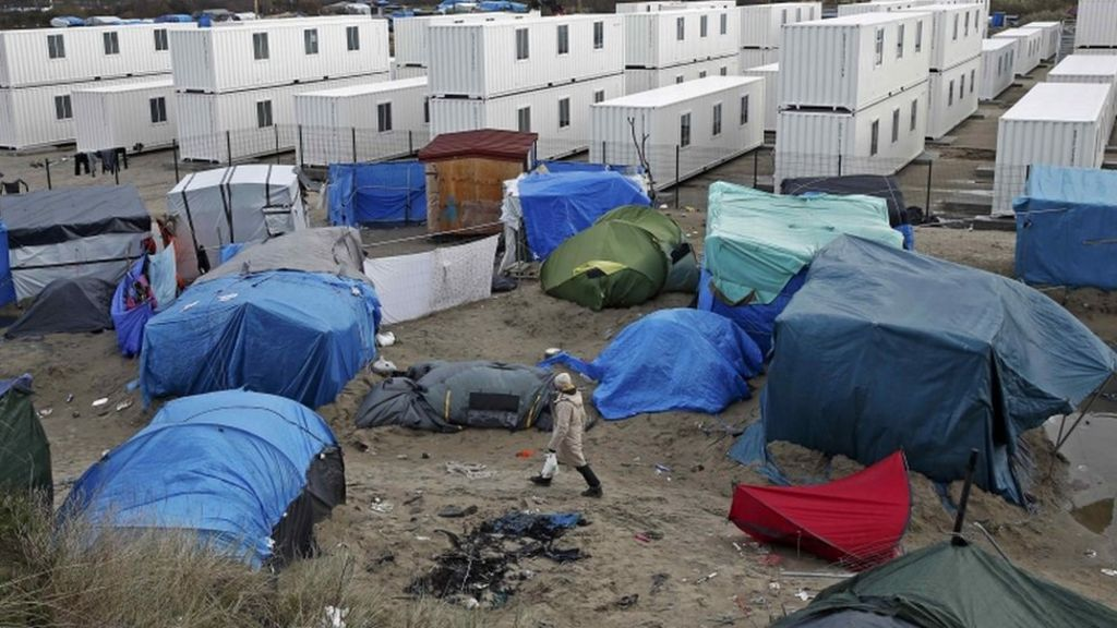 EU referendum: PM denies Calais 'Jungle' scaremongering claim ...