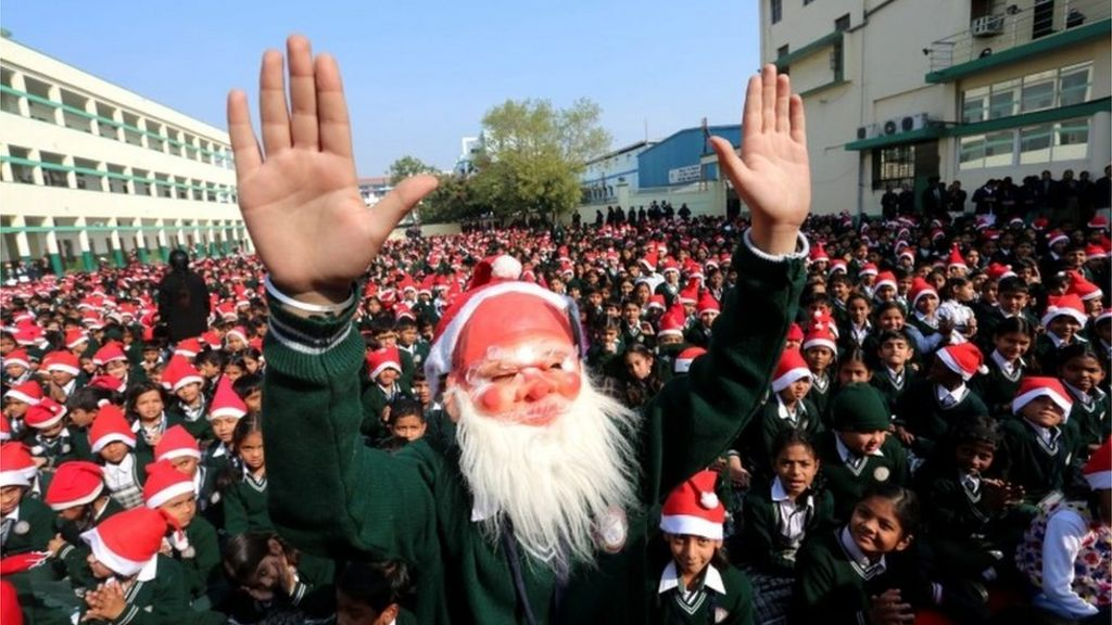 how indians are celebrating christmas