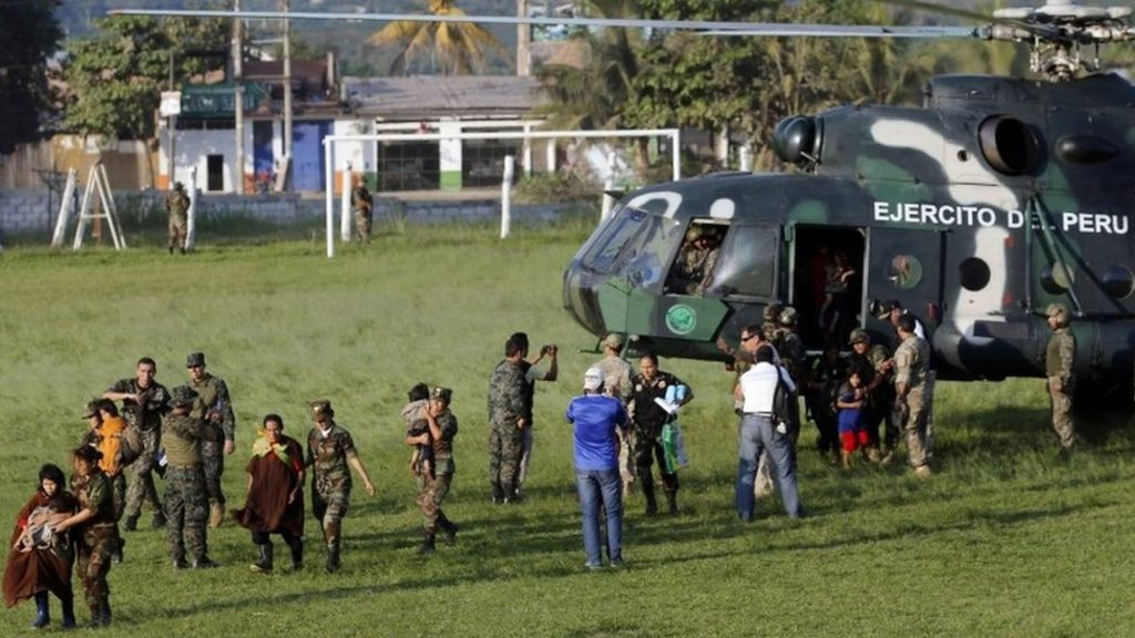 Peru admits Shining Path rebels have not been 'exterminated' - BBC ...