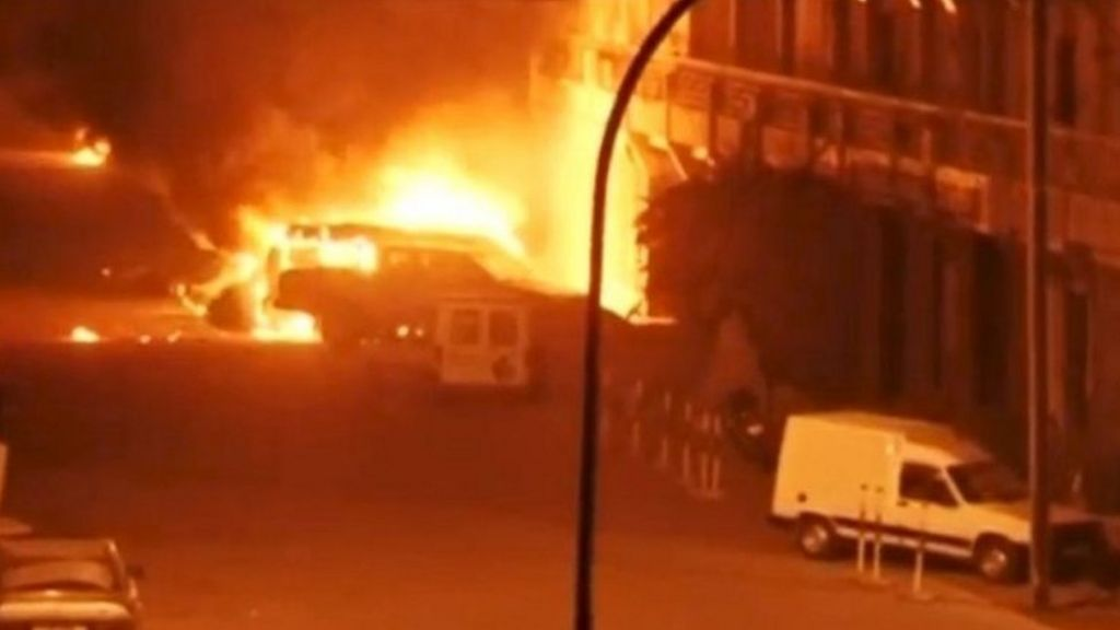 Burkina Faso attack: Troops battle to end deadly hotel siege - BBC ...