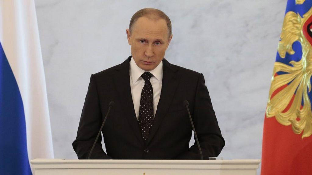 Putin: Turkey 'will regret' downing Russian bomber in Syria - BBC ...