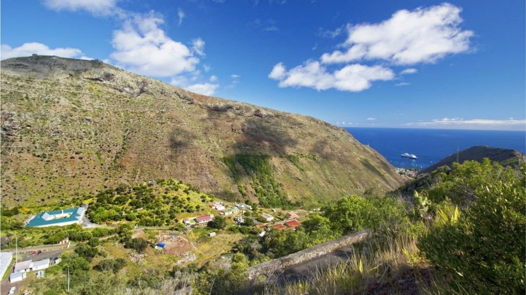 how to get to st helena from uk