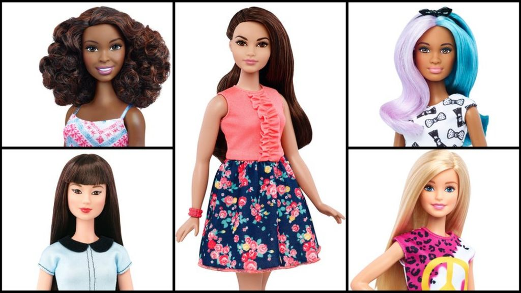 Barbie available in 'curvy, tall and petite' sizes - BBC News