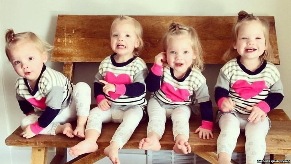 Meet The Mum With Quadruplet Toddlers Bbc News