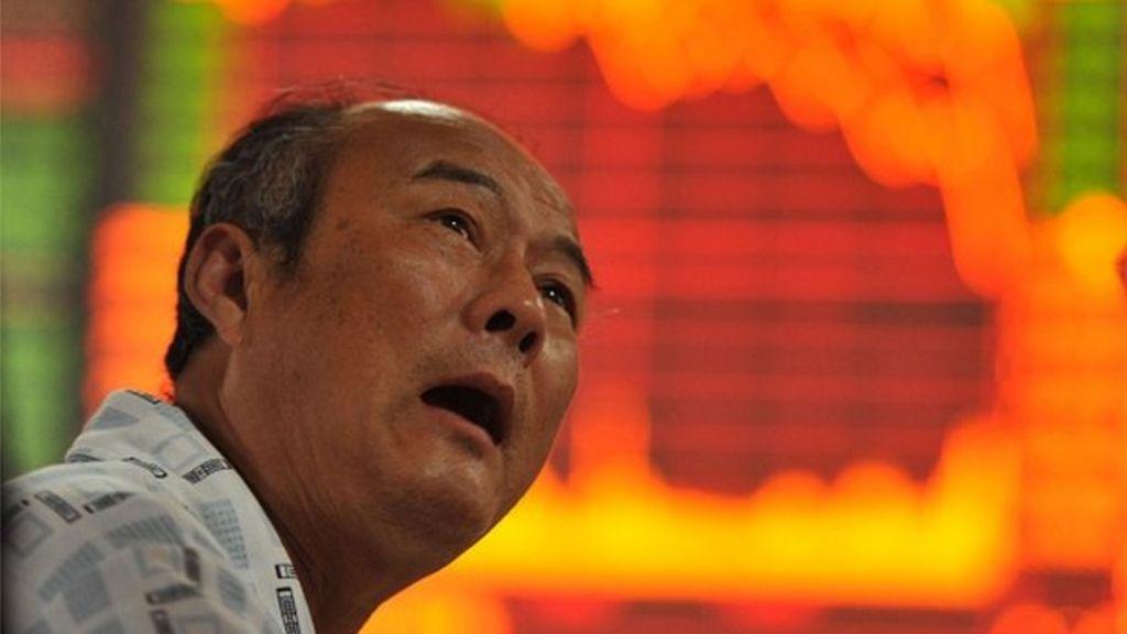 China's stock market fall hits small investors - BBC News