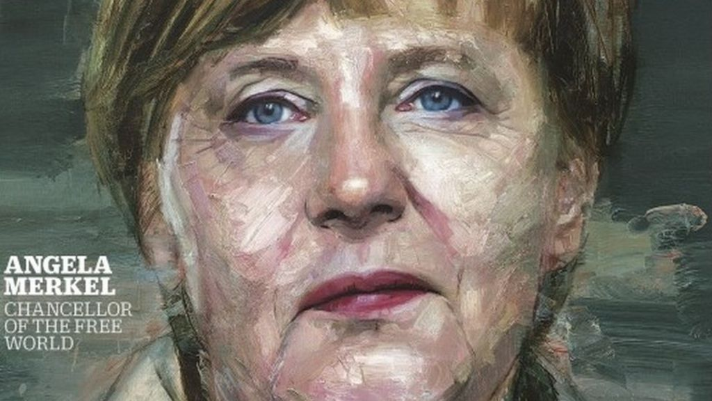 Angela Merkel, German chancellor, is Time 'Person of the Year ...