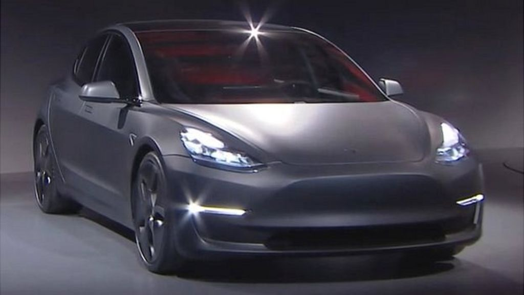 tesla to make all its new cars self driving bbc news. Black Bedroom Furniture Sets. Home Design Ideas