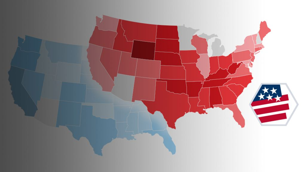 Us Primary Election Map 2016