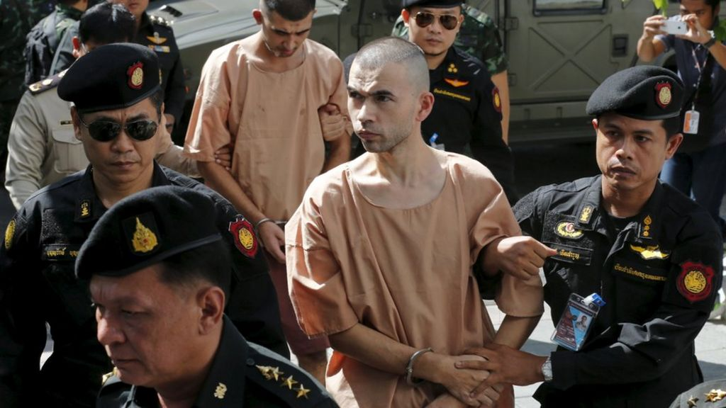 Bangkok bomb thai court charges two over erawan blast bbc news