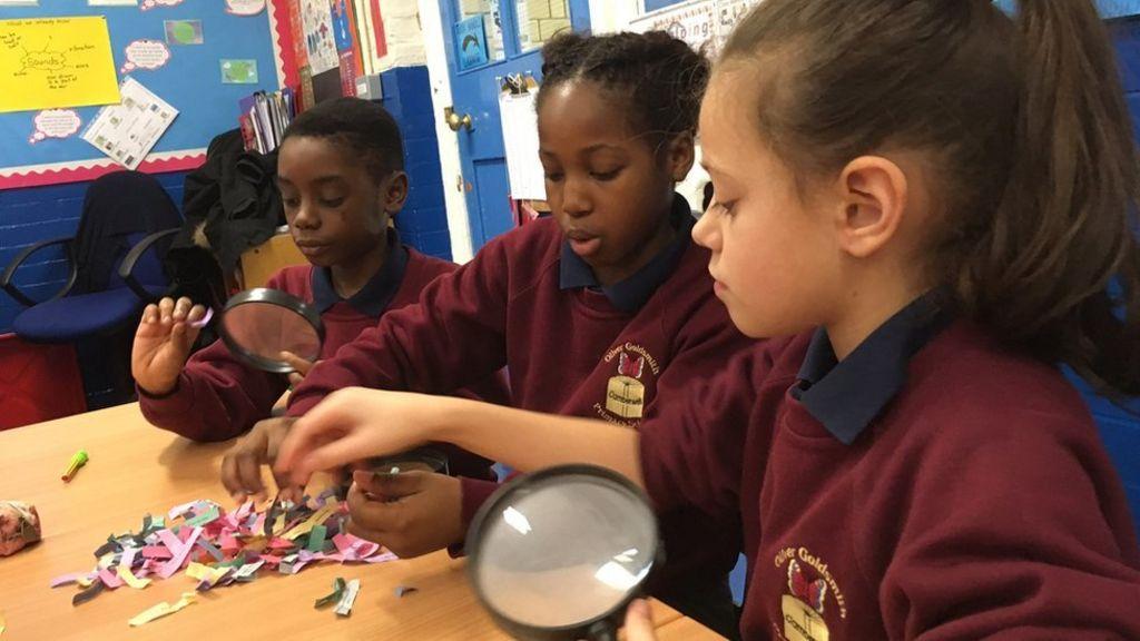 Teaching primary school children about mental health - BBC News