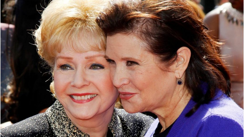 Carrie Fisher and Debbie Reynolds: Fans to say goodbye at public service