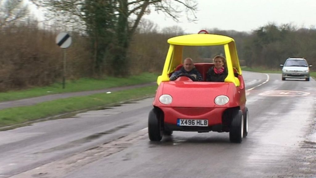 'Little Tike' real life car goes on sale - BBC News