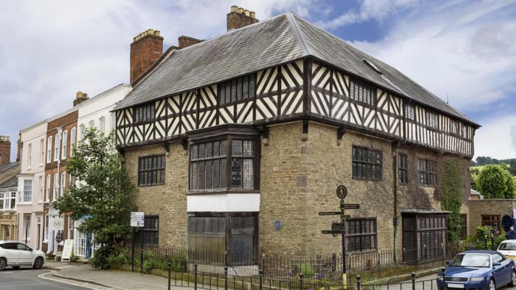 Catherine of aragon 39 s home up for sale in ludlow bbc news for Catherines house