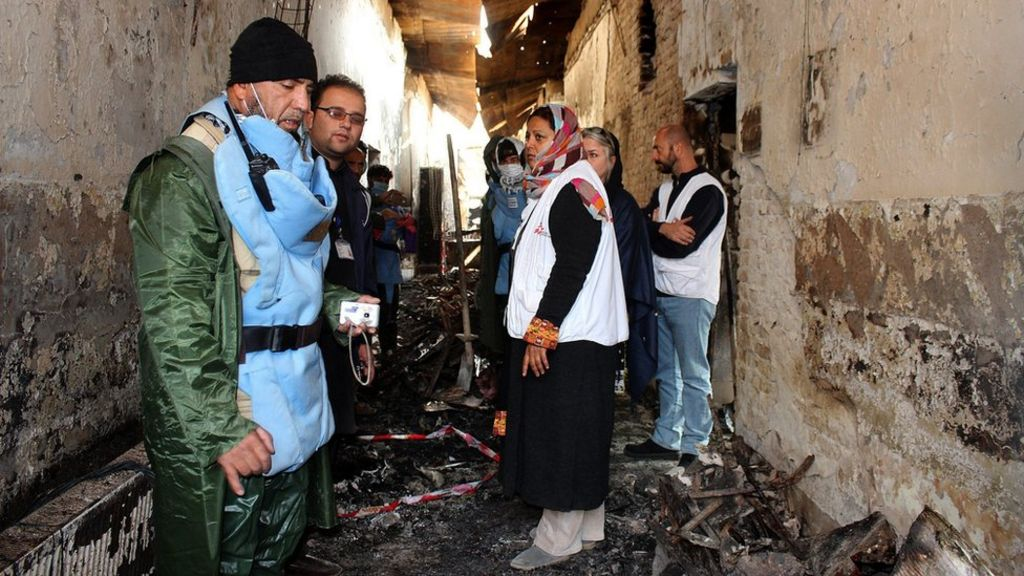 Afghan conflict: What we know about Kunduz hospital bombing ...