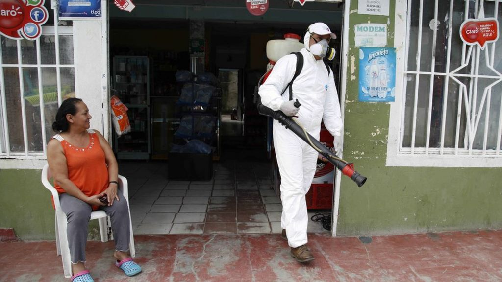Colombia links Zika to rare nerve disorder deaths - BBC News