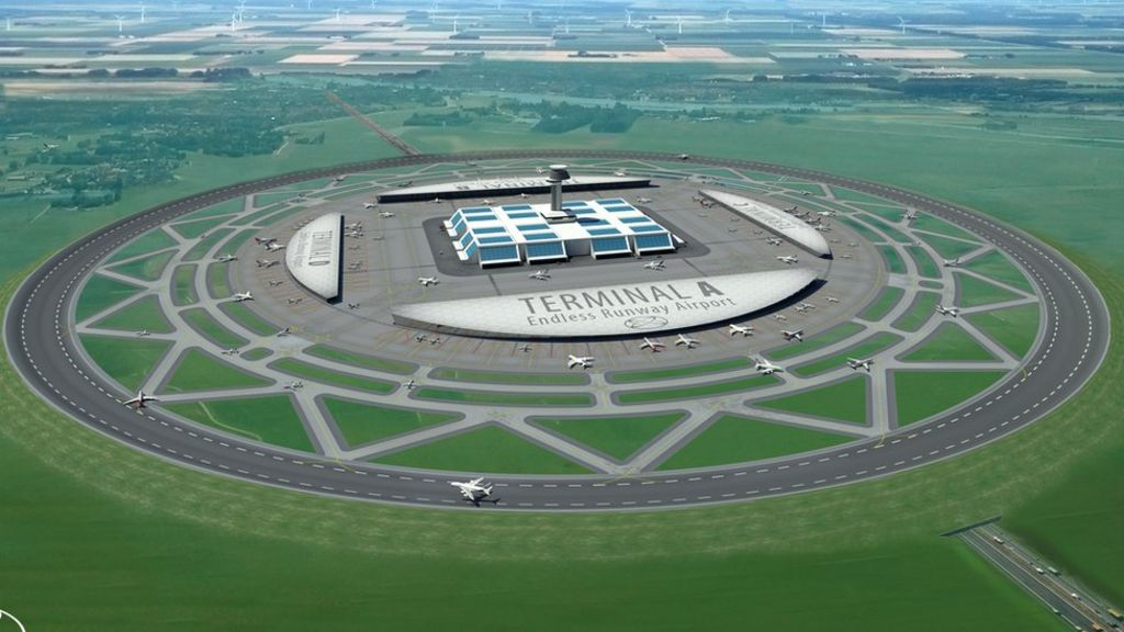 Will circular runways ever take off? Think again