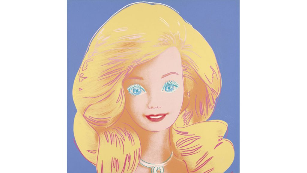 Why Warhol painted Barbie - BBC News