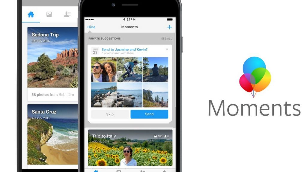 Facebook Moments facial-recognition app launches in Europe