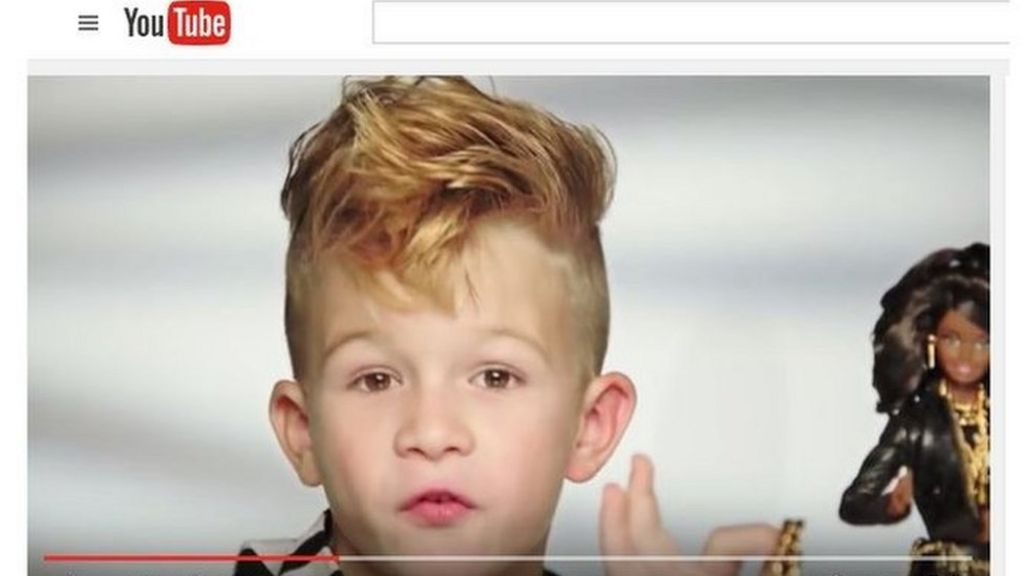 The real story behind the boy in the Barbie commercial - BBC News