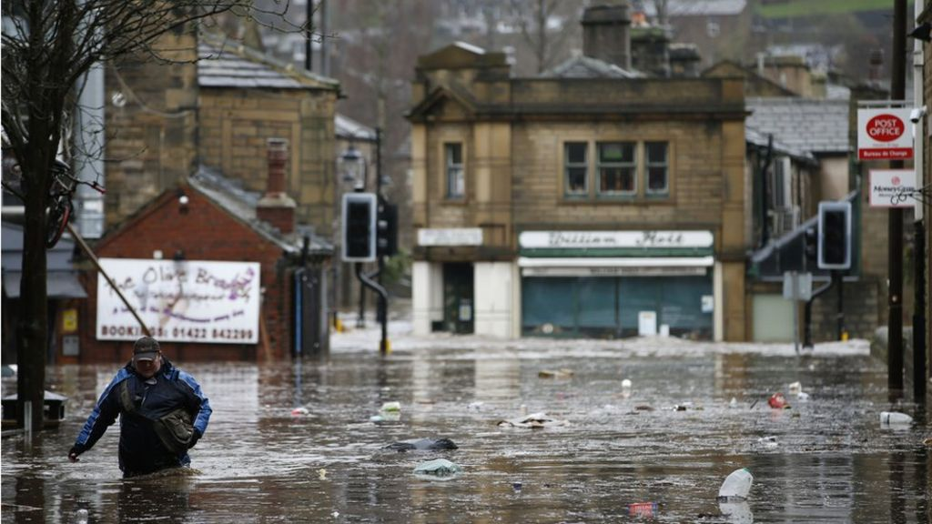 In pictures: North of England flooding - Leeds news - NewsLocker