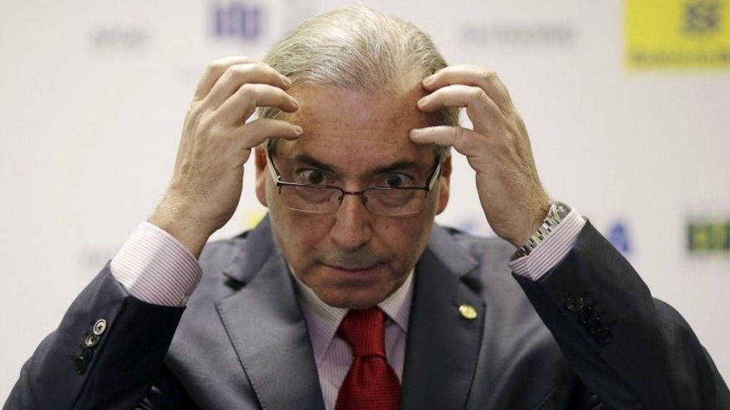 Brazil Speaker Eduardo Cunha facing corruption charges - BBC News