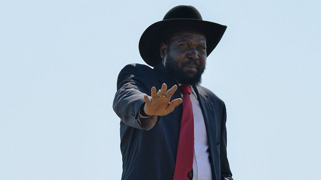 South Sudan leader Salva Kiir 'to sign peace deal' - BBC News