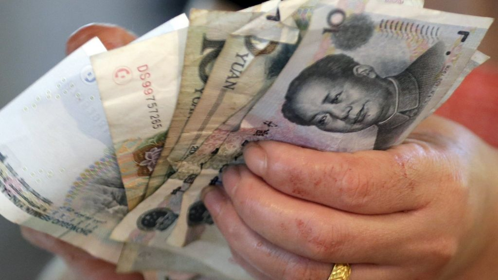 China's currency reserves plunged in January - BBC News