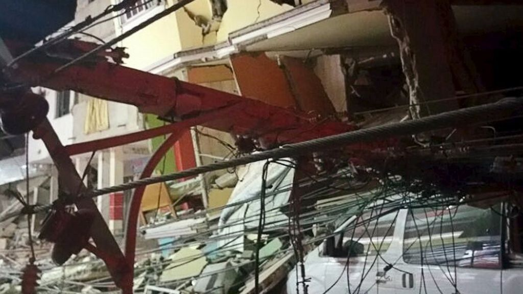 Ecuador earthquake: 'We felt it for several minutes'