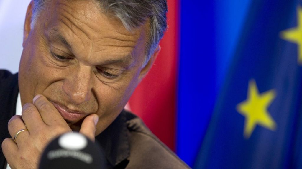 Hungary PM Viktor Orban: Antagonising Europe since 2010 - BBC ...