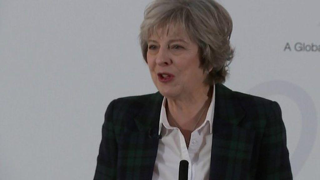 politics audio theresa brexit speech full